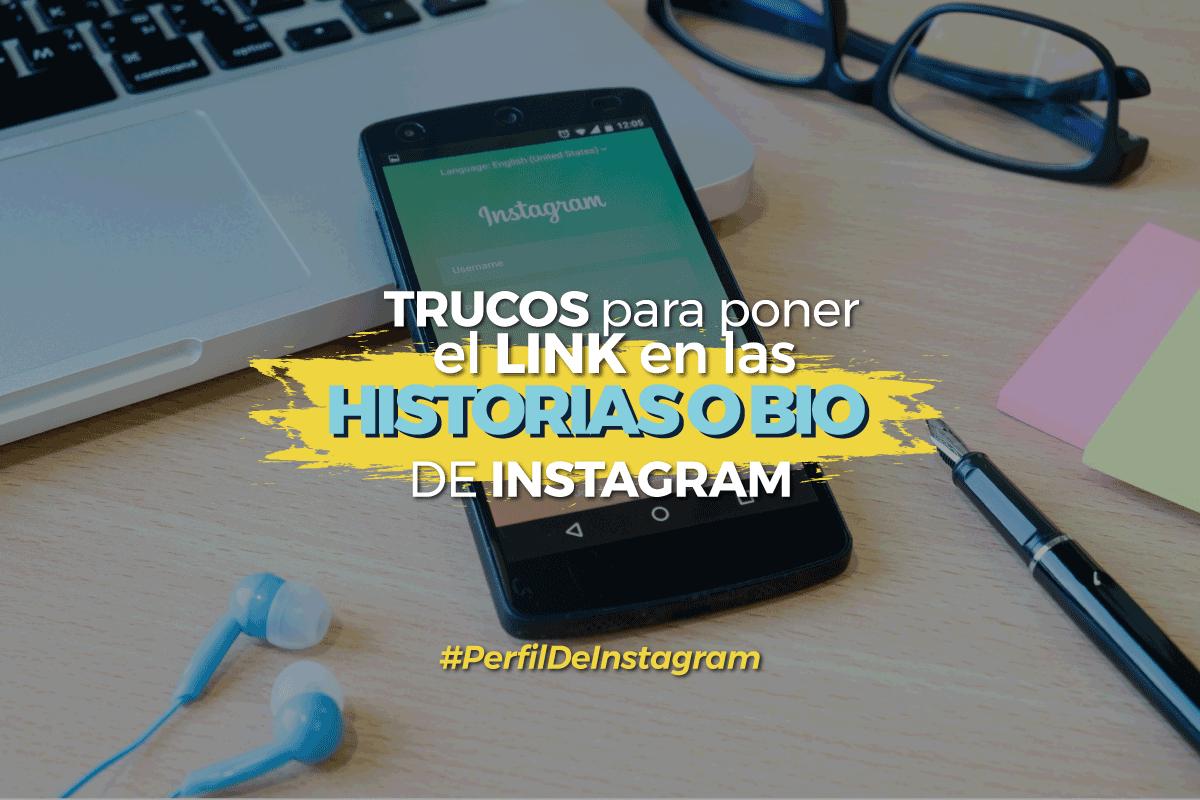 bio en Instagram