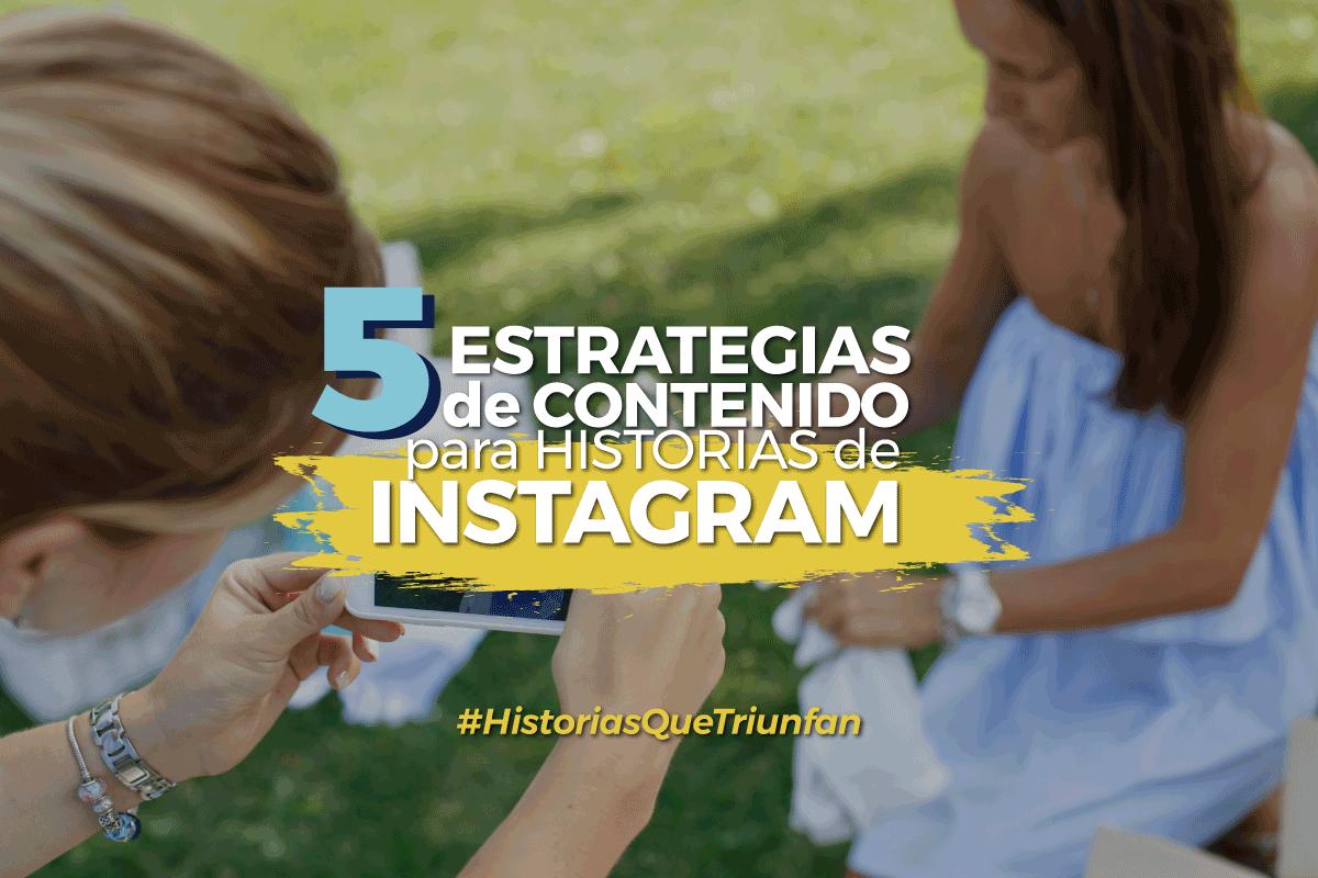 contenidos para historias de Instagram