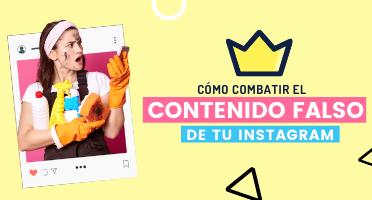 contenido falso de tu Instagram