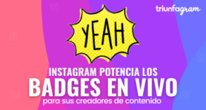 Badges en vivo