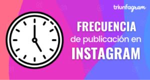 frecuencia en Instagram